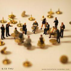 """""""Conference"""" http://miniature-calendar.com/130613/"""