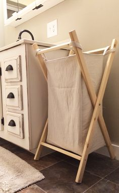 DIY Laundry Hamper for Every Bedroom! The Birch Cottage - Hampers - Ideas of Hampers