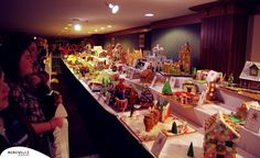 Gingerbread Houses at The Grove Park Inn | ExploreAsheville.com #gingerbread #house #groveparkinn