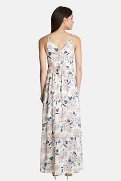 1.State - 'Aster Garden' V-Neck Maxi Dress at Nordstrom Rack. Free Shipping on orders over $100.