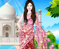 Superbe Barbie Indian Wedding Dress Up