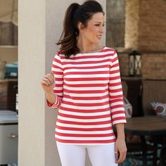 Ladies Coral Stripe Top – Lolly Wolly Doodle. This season is about newness just as it is about the reenvisioning of the past.