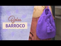 VOLTA ÀS AULAS HANDMADE - YouTube Crochet Case, Free Crochet Bag, Crochet Purses, Crochet Stitches, Crochet Patterns, Crochet Backpack Pattern, Marie Castro, Backpacks, Knitting