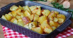 le patate al forno con una ricetta facile e con un piccolo trucco per avere patate al forno perfette croccanti fuori e morbidissime dentro