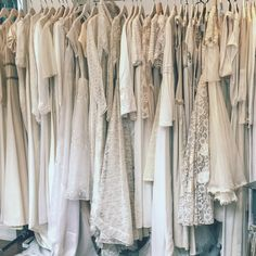 We hold a large collection or original vintage wedding dresses. Lace, silk, long sleeve, backless, high low hem, tea length, high neck, boho, all fit for a modern, stylish bride who wants to be totally unique!