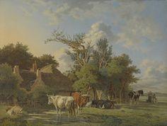 Landschap, Jean François Valois, 1800 - 1853