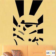 Storm Troopers Star Wars Wall Art Autocollants Décalcomanie Vinyle Décor Maison chambre murale