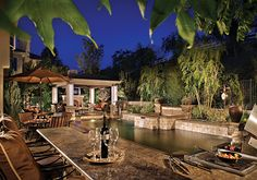 out door living | Landscape Lighting and Outdoor Living Spaces