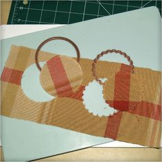 Cutting Fabric with Spellbinders Dies - Upholstery
