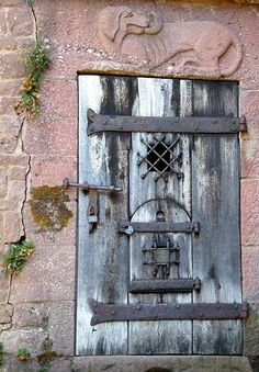 Do Not Open This Door, a photo from Alsace, East | TrekEarth