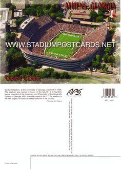 € 1,00 - code : USA-038 - Athens - Sanford - stadium postcard cartolina stadio carte stade estadio tarjeta postal