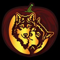 Wolf Love CO - Stoneykins Pumpkin Carving Patterns and Stencils