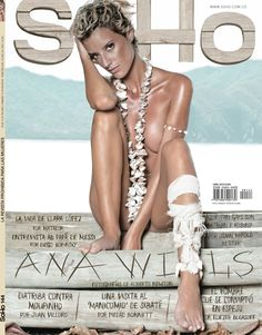 La obsesión platónica Ana Wills, es la portada de @RevistaSoho O.o