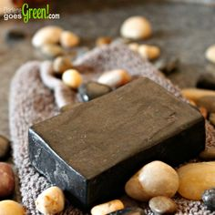 When made into soap with skin soothing and hydrating activated charcoal has a few really great benefits making it my most recommended facial cleanser. Beauty Hacks Skincare, Beauty Tips For Skin, Diy Exfoliating Soap, Charcoal Soap Benefits, Activated Charcoal Soap, Homemade Bath Bombs, Soap Recipes, Natural Living, Earth