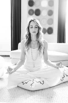 Research shows that taking the time to find some inner calm can do a whole lot of good. Whatever your schedule, here's how to take a few moments to yourself from Gabrielle Bernstein, author of the New York Times bestselling book Miracles Now.