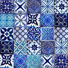 marrakesh moroccan tiles blue