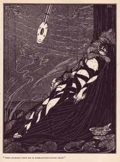 """The pit and the pendulum"" from ""Poe Tales of Mystery and Imagination"" Harry Clarke"