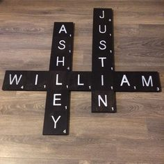 Happy Sunday Everyone! For all those who got wild last night and is off to church this morning .make sure you bring bills, instead of coins to place in the donation tray 🙌🏼 Scrabble Wall Art, Scrabble Tiles, Rustic Signs, Wood Signs, Durham Region, Happy Sunday Everyone, Kirchen, Custom Wood, Handmade Shop