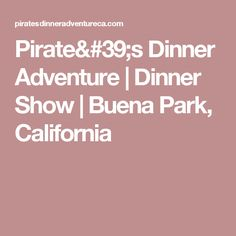 We Are The Worlds Most Interactive Dinner Show Fun Filled Entertainment For Adults And Kids Located In Orange County California