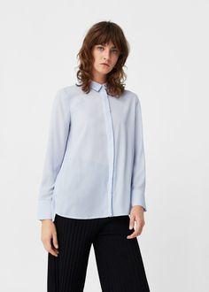 Fließendes hemd | MANGO