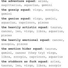 I'm apart of the heavily, emotional, emotion hider, and artistic squad♋