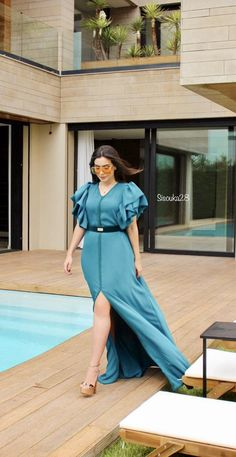 Kaftan Style, Caftan Dress, Shirt Dress, Moroccan Caftan, Oriental Fashion, Mode Hijab, Beachwear, Wrap Dress, Dressing