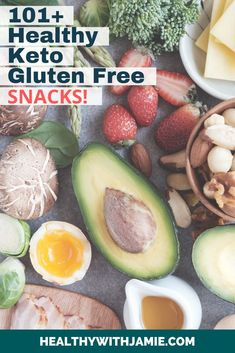 Keto, Low Carb & Gluten Free Healthy Snacks - Healthy with Jamie Gluten Free Menu, Gluten Free Snacks, Gluten Free Diet, Keto Snacks, Healthy Snacks, Workout To Lose Weight Fast, Sugar Free Diet, Keto Lunch Ideas, Healthy Lifestyle Tips