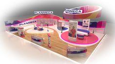 Planmeca Booth by Shimaa El-feky, via Behance