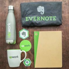 """Evernote on Instagram: """"[UPDATE: WE HAVE OUR WINNER! Congrats to @laughtercrystal 🎉] For #SmallBusinessWeek, we're giving away everything you need to get more…"""" Evernote, Company Swag, Small Business Week, Food Branding, Employer Branding, Vintage Jewelry Crafts, Corporate Identity Design, Cuppa Tea, Brand Book"""