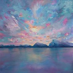 Melissa McKinnon - Rundle Sky Acrilico su tela