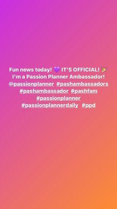 Instagram Passion Planner, Journal, Movie Posters, Instagram, Film Poster, Billboard, Film Posters