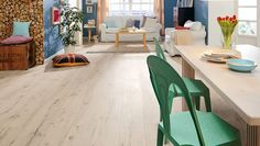 HARO Laminate floor TRITTY 100 Gran Via 4V Alpine Oak White authentic matt (Wood reproduction)