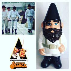 A clockwork orange gnome by ianthegnome on Etsy