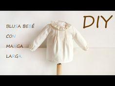 Blusa bebé con manga larga: DIY - Patronesmujer: Blog de costura, patrones y telas.
