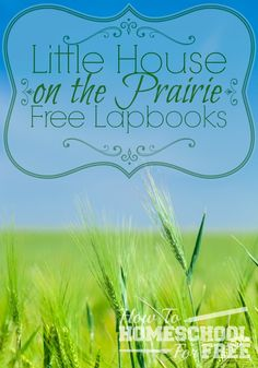 You can download a FREE set of NINE different lapbooks based on the Little House on the Prairie series!