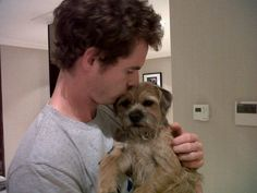 Andy Murray and his Border Terrier Maggie