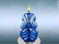 Kerze-Engel.Außergewöhnliches Geschenk.Unikat. von Lenz  Kerzen auf DaWanda.com