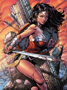 Wonder Woman   #comics #dc #wonderwoman
