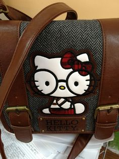 Lounge Fly Hello Kitty Messenger Bag @Betsy Smith (seriously did not know how much Hello Kitty stuff there was until Pintrest)