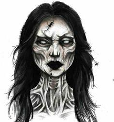 Horror Makeup, Scary Makeup, Clown Makeup, Fx Makeup, Halloween Makeup Artist, Cute Halloween Makeup, Catwalk Makeup, Makeup Face Charts, Special Makeup