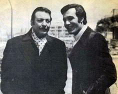 محمود ياسين مع رشدي أباظة