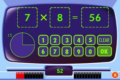 Everyday Math ® APPS: Addition Top - It, Beat the Computer, Squeeze Monster, Equivalent Fractions, Divisibility Dash Everyday Mathematics, Family Math Night, Equivalent Fractions, Elementary Math, Upper Elementary, Primary Maths, Instructional Coaching, Multiplication Facts, The Computer