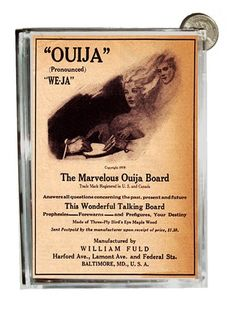 Ouija Board Vintage 1900s Ad Acrylic Piggy Money Bank or Display Piece | eBay