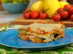 Veggie Lasagna recipe from Marcela Valladolid via Food Network