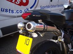 MTC Motorbike Exhausts Ducati 848 | by Max Torque Cans