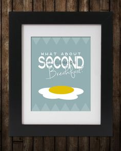 LOTR Second+Breakfast+Quote+//+Printable+Poster+by+LittleTinspirations,+$6.40