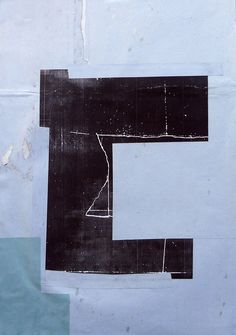 Antoine Puisais, Untitled (C line), 2013, collages, laser print, found papers, 38 x 53 cm.