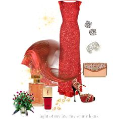 Lady in Red - Polyvore