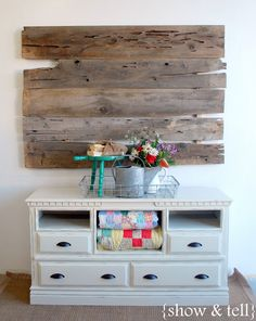 {Before & After} – dresser turned TV console   Sweet Pickins Furniture...what a great transformation! And a great explanation, too.  Planning on this ;)