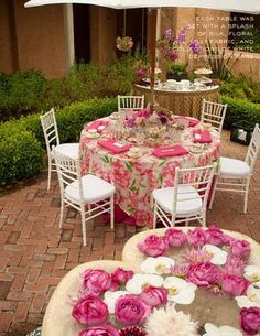 Bridal Shower: Lilly Pulitzer Tea Party by Debi Lilly